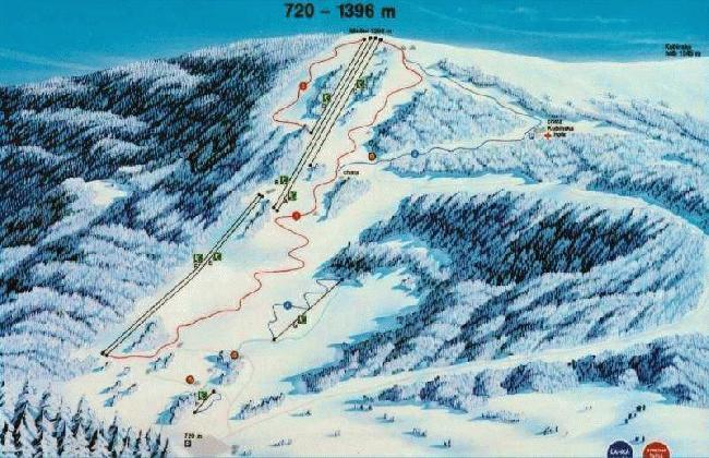 Kubinska Hola Piste / Trail Map