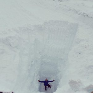 Fonna Glacier Reports 11 Metre (36 Feet) Snow Depth